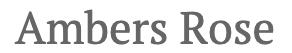 Ambers Rose Logo - Artsy Flower