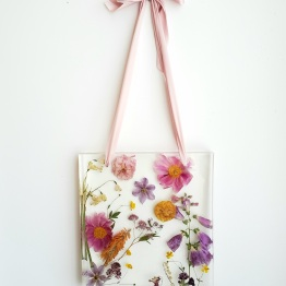 Artsy Flower WJL.Sample.WallHanging