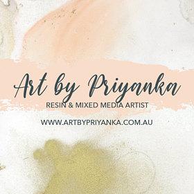 Art by Priyanka logo - ArtsyFlower.com