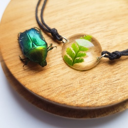Flower Preservation Jewelry by Wicket to Wilderness 3 - ArtsyFlower.com