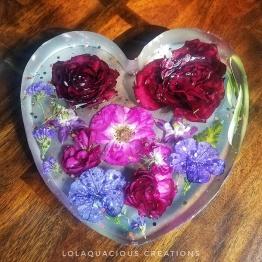 Lolaquacious Creations 1 - Artsy Flower
