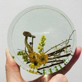 Resinous Art 6 - Artsy Flower