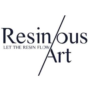 Resinous Art Logo - Artsy Flower