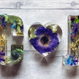 Flower Preservation Art by Sarah Ashleigh Designs 3 - ArtsyFlower.com