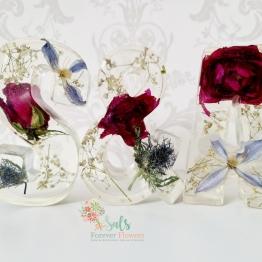 Modern Flower Preservation Art by Sals Forever Flowers 4 - ArtsyFlower.com