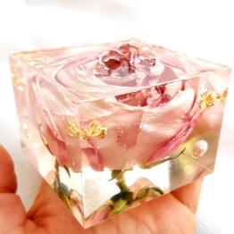Modern Bridal Flower Preservation Art by Bsbowzart 4 - Artsyflower.com