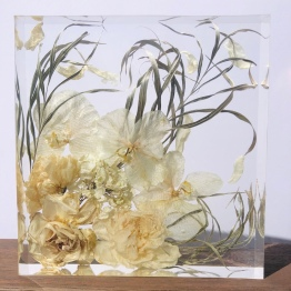 Modern Bridal Bouquet Preservation by Saluto 2 - artsyflower.com