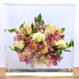 Modern Bridal Bouquet Preservation by Saluto 3 - artsyflower.com
