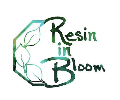Resin in bloom Logo - Artsyflower.com